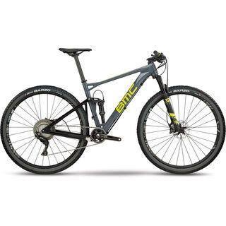 BMC Fourstroke 01 Two 2018, grey lime - Mountainbike