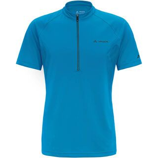 Vaude Men's Dyce Shirt, teal blue - Radtrikot