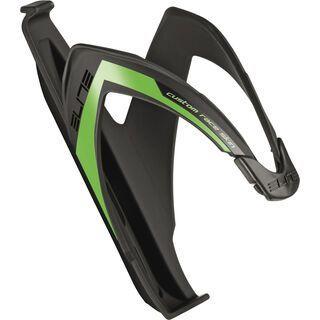 Elite Custom Race Soft Touch, schwarz/grün fluoreszierend - Flaschenhalter
