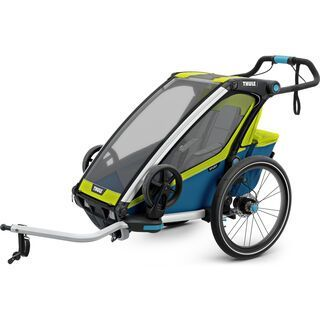 Thule Chariot Sport 1 chartreuse/mykonos 2019