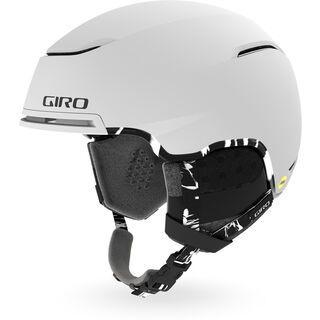 Giro Terra MIPS, matte white sun print - Skihelm