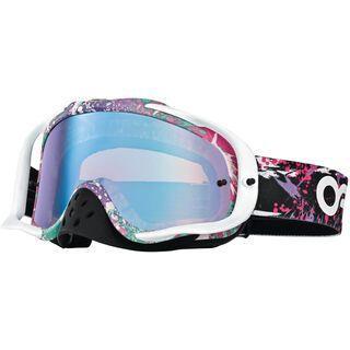 Oakley Crowbar MX, factory splatter/violet iridium - MX Brille
