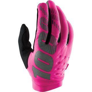100% Brisker Women Glove, pink/black - Fahrradhandschuhe
