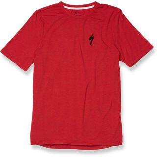 Specialized Drirelease T-Shirt, red heather/black - Radtrikot