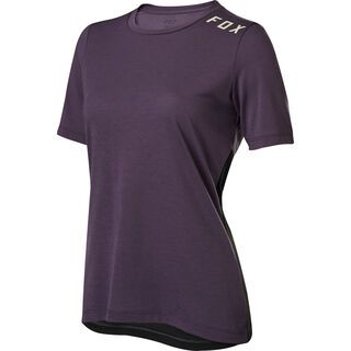 Fox Womens Ranger Drirelease SS Jersey, dark purple - Radtrikot