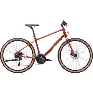 Kona Dew Plus 2020, rust orange/chargoal - Fitnessbike