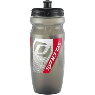 Syncros Wasserflasche Corporate, clear grey/red - Trinkflasche