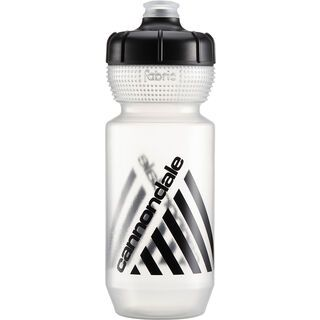 Cannondale Retro Bottle 600 ml, clear/black - Trinkflasche