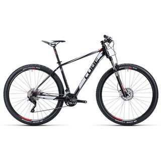 Cube Attention 29 2015, black/white/red - Mountainbike