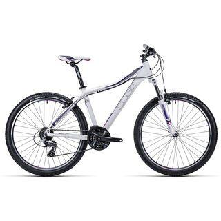 Cube Access WLS 26 2015, white/purple - Mountainbike