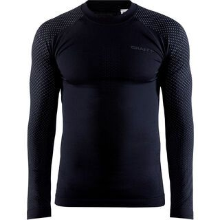 Craft Adv Warm Fuseknit Intensity LS M, black - Unterhemd