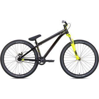 NS Bikes Zircus 2017, black/yellow - Dirtbike