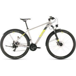 Cube Aim Allroad 27.5 2020, silver´n´flashyellow - Mountainbike