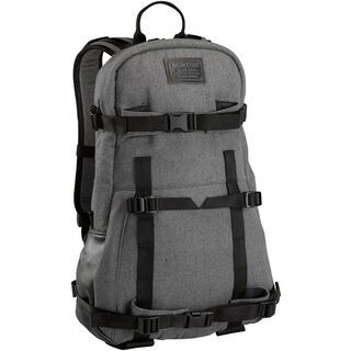 Burton Provision Pack, grey wool leather - Rucksack