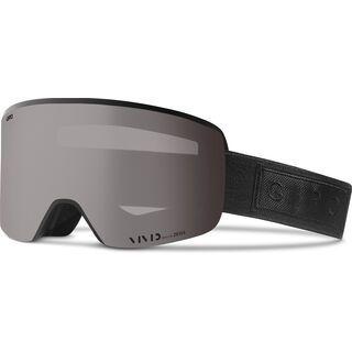 Giro Axis inkl. Wechselscheibe, black bar/Lens: vivid onyx - Skibrille