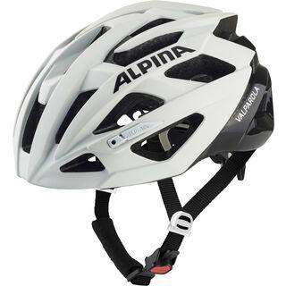 Alpina Valparola, white-black - Fahrradhelm