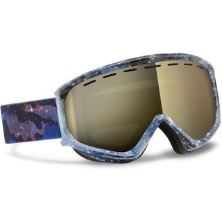 Scott Level, cosmic blue/gold chrome - Skibrille