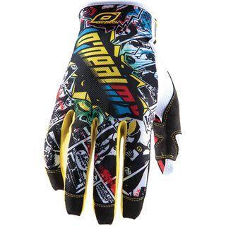 ONeal Jump Glove Villain, white - Fahrradhandschuhe