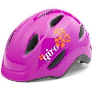 Giro Scamp, magenta flowers - Fahrradhelm