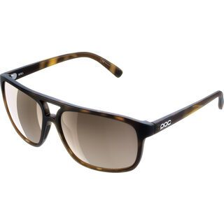 POC Will Clarity Brown/Silver Mirror tortoise brown