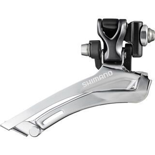 Shimano Umwerfer Cyclocross FD-CX70 2x10 Down Swing - Top-Pull, grau