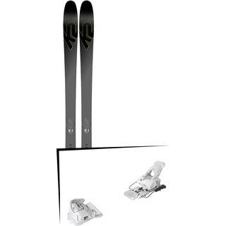 Set: K2 SKI Pinnacle 95Ti 2019 + Tyrolia Attack² 12 GW matt white