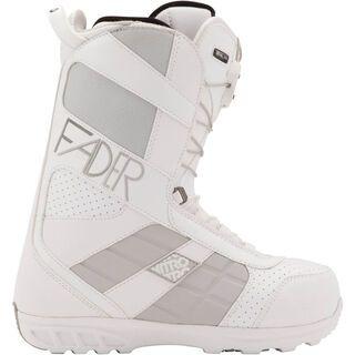 *** 2. Wahl *** Nitro Women's Fader TLS 2012, white/platinum - Snowboardschuhe   Größe 27.0
