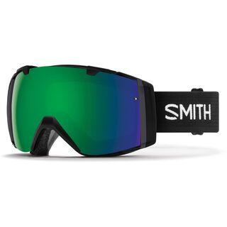 Smith I/O inkl. Wechselscheibe, black/Lens: sun green mirror chromapop - Skibrille