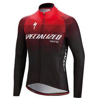 Specialized Element SL Team Expert Long Sleeve Jersey, black/red - Radtrikot