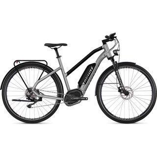 Ghost Hybride Square Trekking B5.8 W AL 2018, silver/black - E-Bike