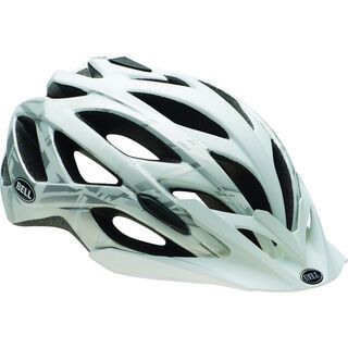 Bell Sequence, matte white/silver burnout - Fahrradhelm