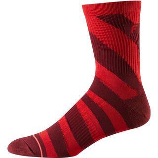 Fox 6 Trail Sock, cardinal - Radsocken