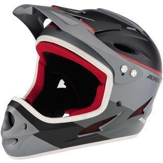 Alpina Fullface, titanium-red - Fahrradhelm
