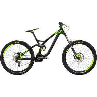 NS Bikes Fuzz 1 2016, black/green - Mountainbike