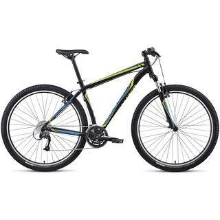 Specialized Hardrock Sport 29 2014, Black/Hyper Green/Cyan - Mountainbike