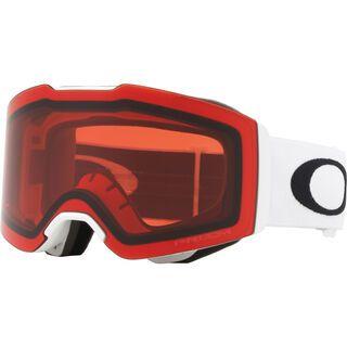 Oakley Fall Line Prizm, matte white/Lens: prizm rose - Skibrille