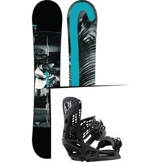 Set: Burton Custom Twin Flying V 2017 +  Genesis X EST (1712793S)