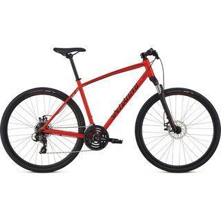 Specialized Crosstrail Mechanical Disc 2018, red/limon/black - Fitnessbike