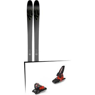Set: K2 SKI Pinnacle 95Ti 2019 + Marker Jester 18 Pro ID black/flo-red