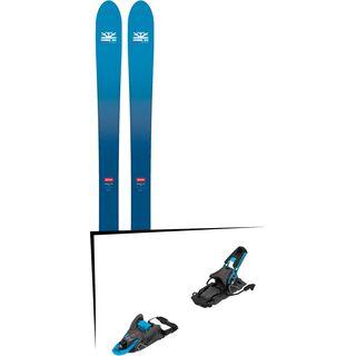 Set: DPS Skis Wailer F106 Foundation 2018 + Salomon S/Lab Shift MNC blue/black