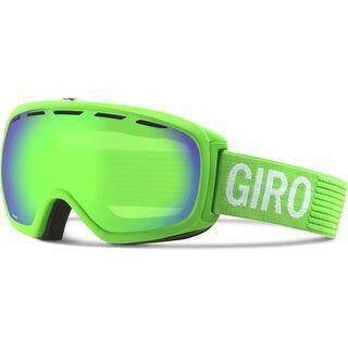 Giro Basis, bright green monotone/loden green - Skibrille