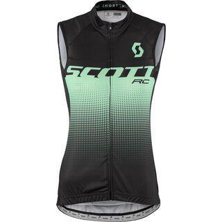 Scott RC Pro w/o SL Women's Shirt, black/opal green - Radtrikot