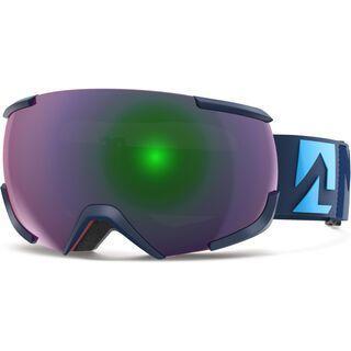 Marker 16:10+ MAP inkl. Wechselscheibe, blau/Lens: green plasma mirror - Skibrille
