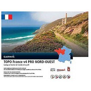 Garmin Topo Frankreich V4 PRO Nord-West (microSD/SD) - Karte