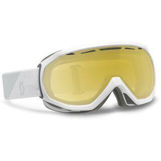 Scott Notice OTG + Strap-Verlängerung, white/ls bronze chrome - Skibrille