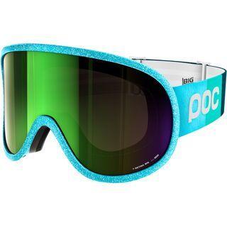 POC Retina Big Julia Mancuso Ed., blue/Lens: persimmon green mirror - Skibrille