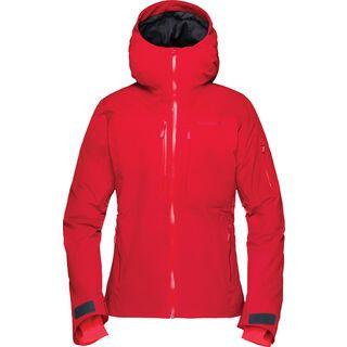 Norrona lofoten Gore-Tex insulated Jacket W's, jester red - Skijacke