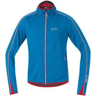 Gore Bike Wear Countdown Windstopper Soft Shell Hoody, splash blue/red - Radjacke