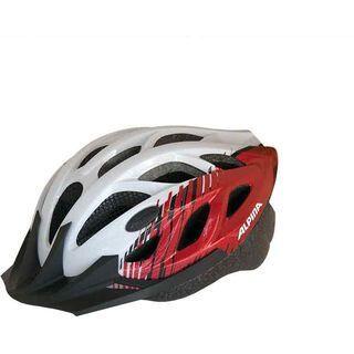Alpina Tour 3, white-red - Fahrradhelm