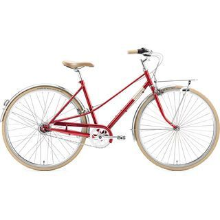 Creme Cycles Caferacer Lady Solo 2020, red - Cityrad